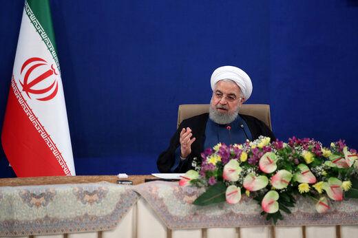 روحانی: بانک مرکزی ارز را کنترل خواهد کرد/ دولت مالک ارز است/ شرایط الان کشور ناشی از تحریم و کرونا است نه یک فرد