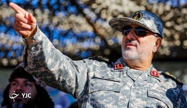 بمبارانهای زمینی و هوایی سپاه در چهل و دومین سالگرد پیروزی انقلاب