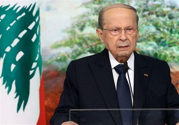 میشل عون: اجازه نمیدهم کسی لبنان را گروگان بگیرد
