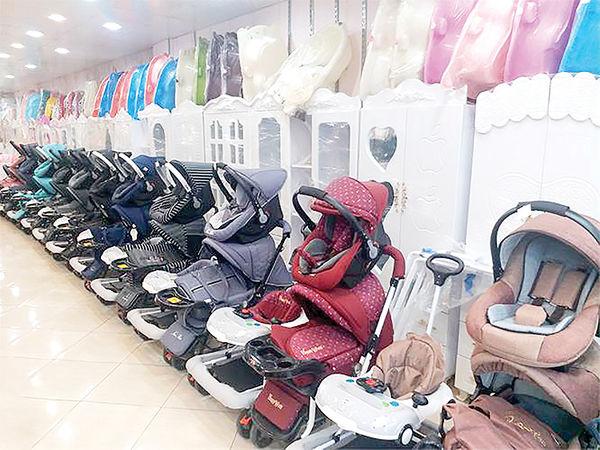 نوسان در بازار وسایل کودک