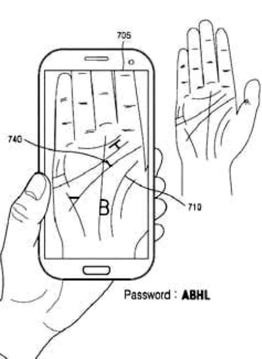احراز هویت موبایل با کف دست