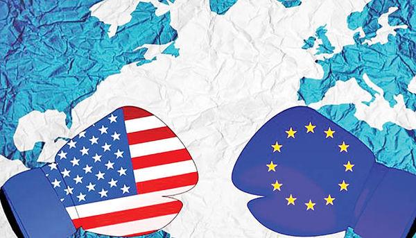 تنش تعرفهای آمریکا و اروپا