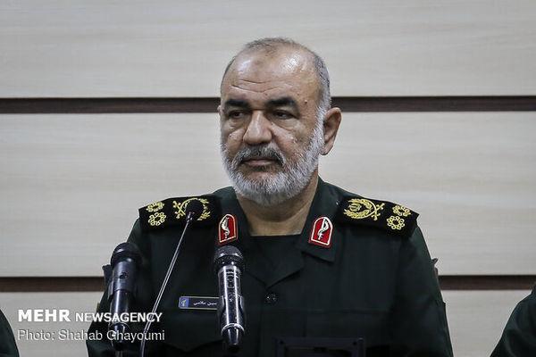 فرمانده کل سپاه: یک سال و نیم اخیر در وضعیت جنگی قرار داشتیم
