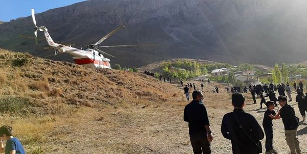 پیکر علامه حسنزاده وارد روستای ایرا شد+ عکس