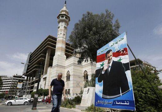 کمپین انتخاباتی اسد شروع به کار کرد