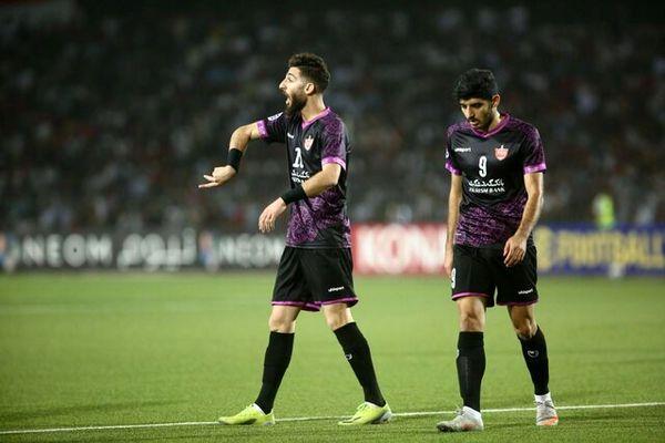 صعود پرسپولیس در لیگ قهرمانان آسیا با گل دقیقه ۹۰