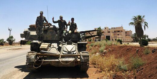 نیروهای ارتش سوریه وارد مرکز شهر درعا شدند