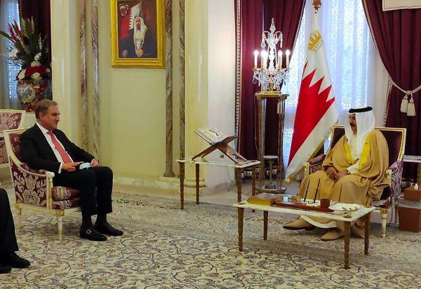 در دیدار وزیر خارجه پاکستان با شاه بحرین چه گذشت؟