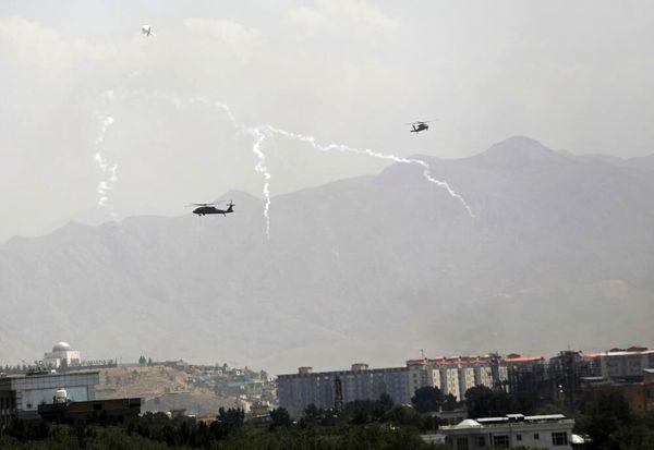 فرودگاه کابل در درست آمریکا