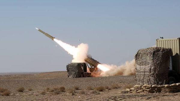 تست موفق سامانه موشکی مرصاد ۱۶ در کویر مرکزی ایران