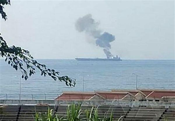 حمله نظامی به کشتی نفت کش در بندر بانیاس تکذیب شد