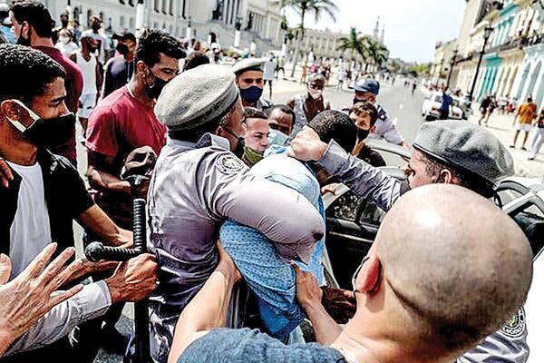 شورش کرونایی در کوبا