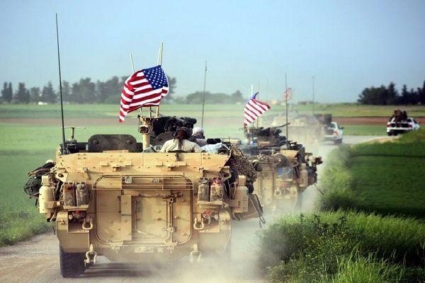 انتقال تجهیزات نظامی آمریکا به استان الحسکه