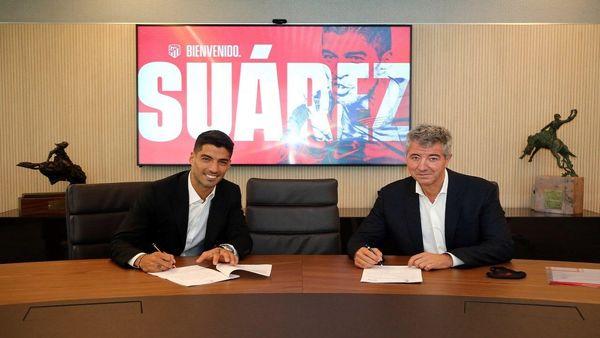 لوییز سوارز رسما به اتلتیکو مادرید پیوست