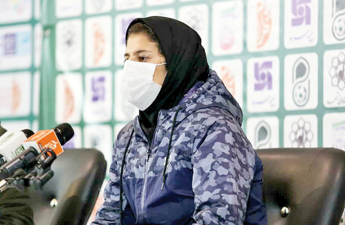 اولین نشست خبری بانوان در فوتبال ایران