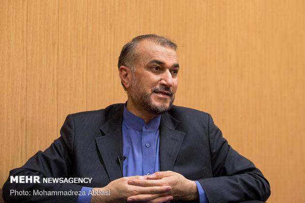 امیرعبداللهیان: مذاکره برای مذاکره را نمیپذیریم