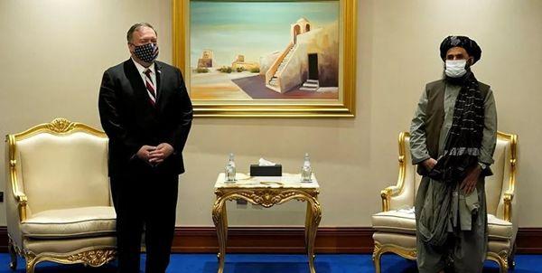 دیدار پمپئو با نمایندگان ارشد طالبان