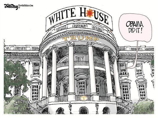 ترامپ مقصر شیوع کرونا در آمریکا را پیدا کرد!