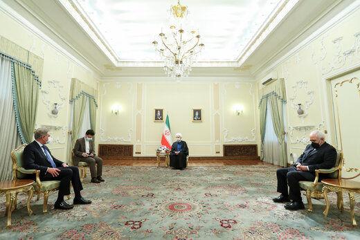 در دیدار روحانی با وزیرخارجه پاکستان چه گذشت؟