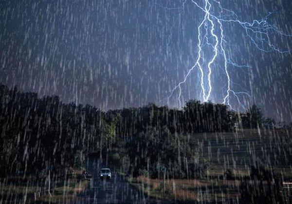 این استانها در معرض بارش باران شدید هستند