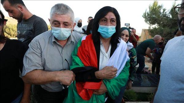 آزادی یک نماینده زن فلسطینی از زندان رژیم صهیونیستی