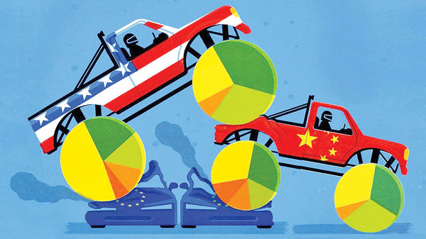 راز سبقت چین و آمریکا از اروپا