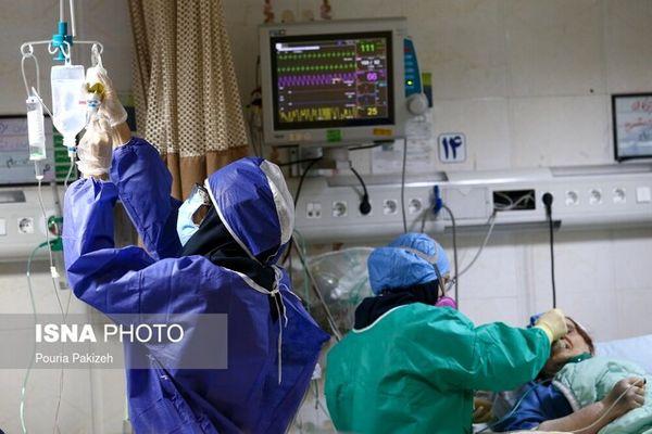 اعلام آخرین آمار رسمی فوتیهای کرونا در کشور/شناسایی ۵هزار و ۸۰۶ بیمار جدید
