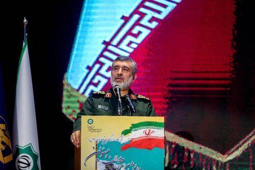 سردار حاجیزاده:  قدرت برتر فعلا ایران است