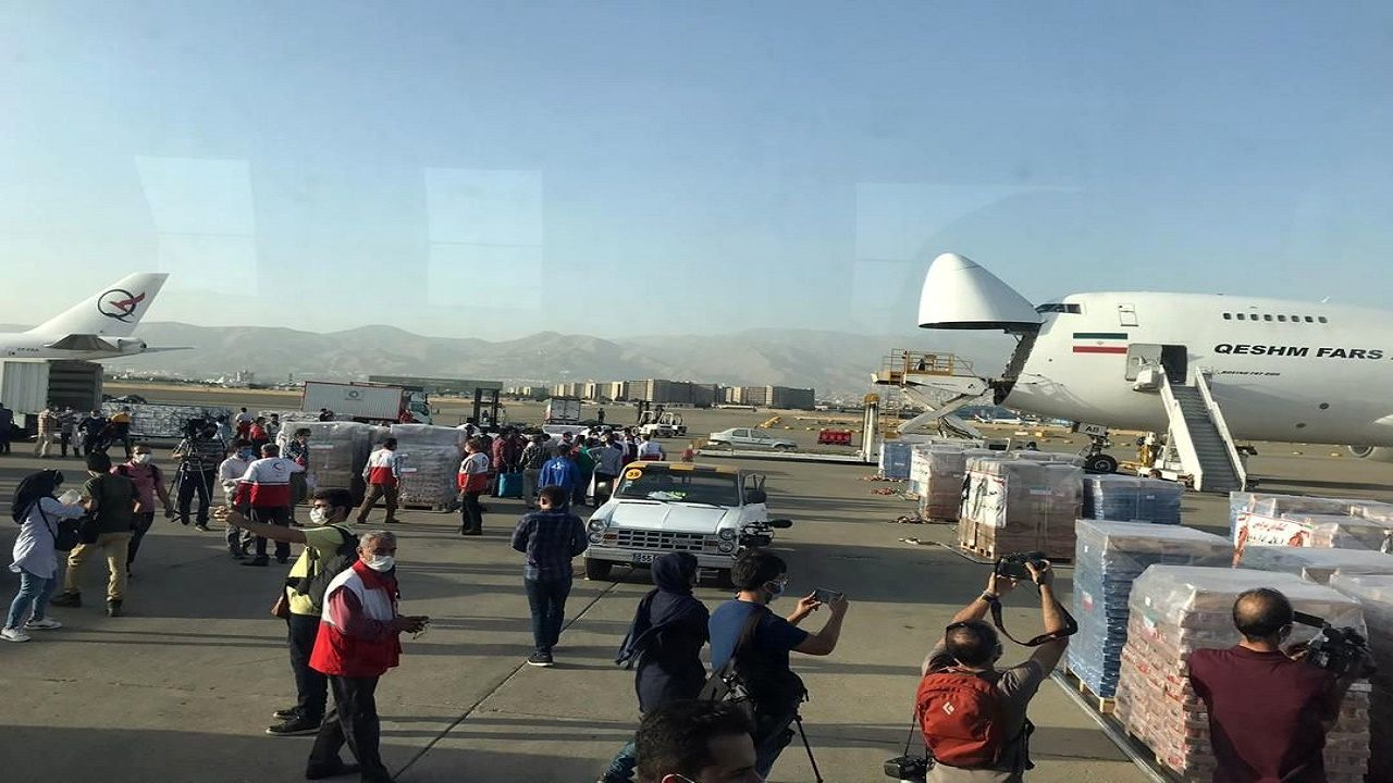کمکهای ایران به لبنان ارسال شد