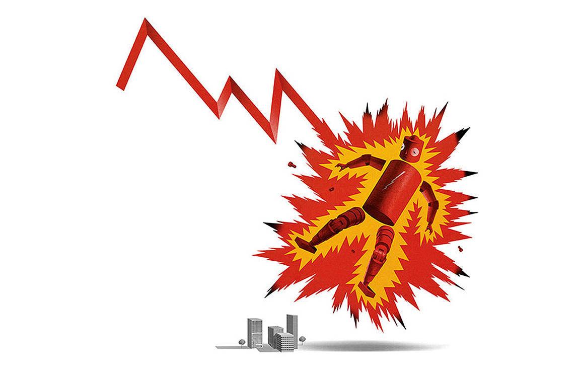 لغزش یا سقوط سهام غولهای تکنولوژی؟
