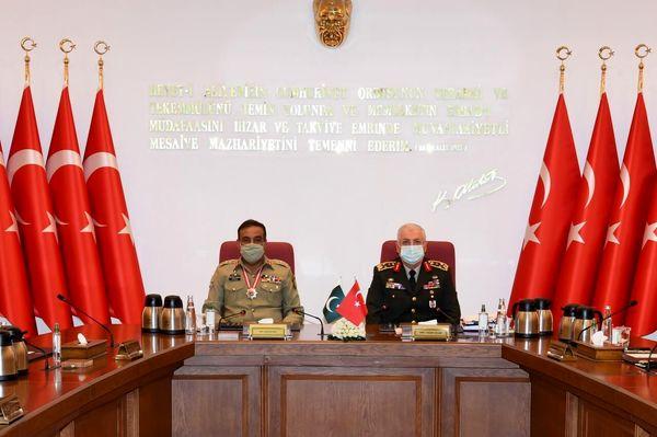 سفر رئیس ستاد مشترک ارتش پاکستان به ترکیه با دستور کار امنیت منطقه