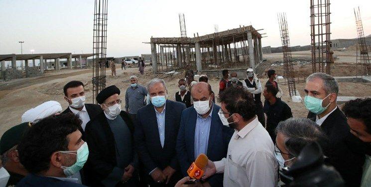 بازدیدآیت الله رئیسی از طرح ساماندهی مسکن کپرنشینان مرادآباد