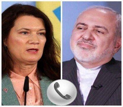توصیه ظریف به وزیر امور خارجه سوئد