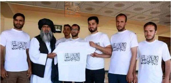 رونمایی طالبان از لباس جدید تیم ملی افغانستان + عکس