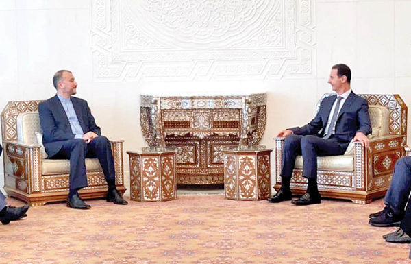 سوریه متحد استراتژیک ایران است