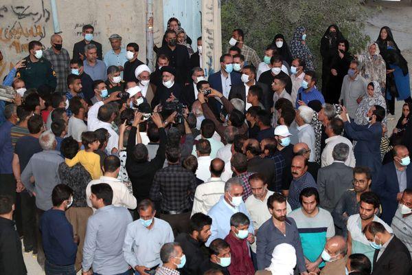 بازدید سرزده رییسی از منطقه حاشیهای و محروم ایلام