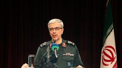 رییس ستاد کل نیروهای مسلح به سردار قاآنی تسلیت گفت