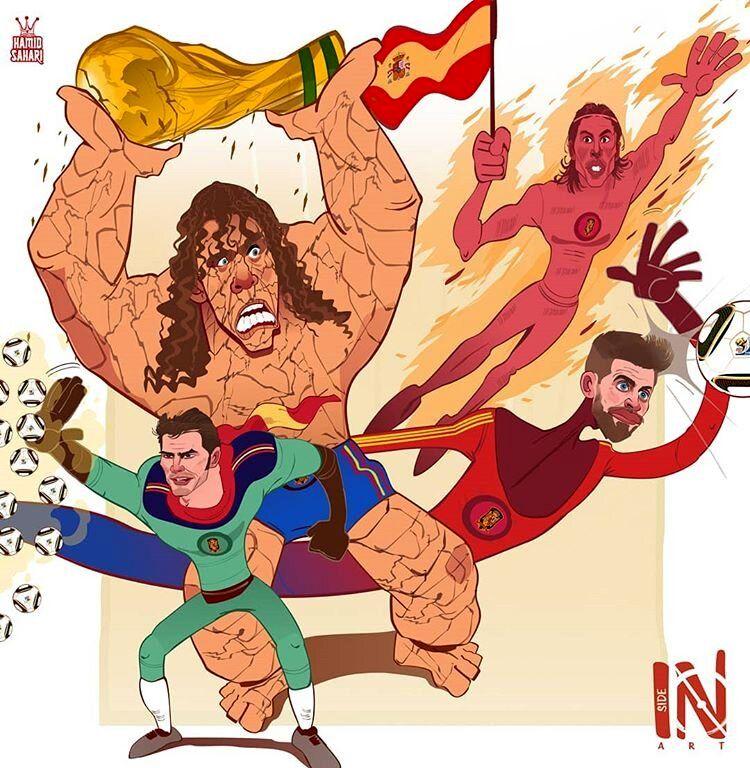 این قهرمانان تکرار نشدنی اسپانیایی را ببینید!