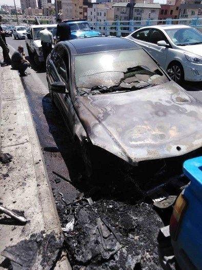 آتشنشانی , سازمان آتشنشانی تهران , آتشسوزی , حوادث , پلیس راهور   پلیس راهنمایی و رانندگی ,