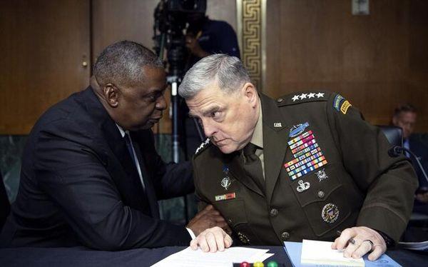 توضیح مقامات پنتاگون به مجلس سنا درباره خروج از افغانستان