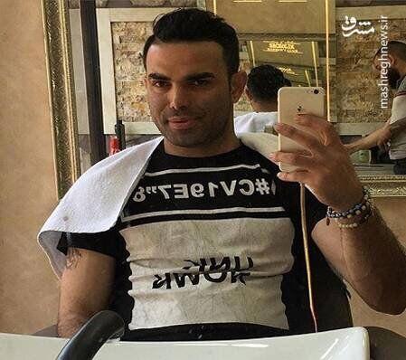 وحید خزایی،از شاخ های اینستاگرام بازداشت شد+عکس