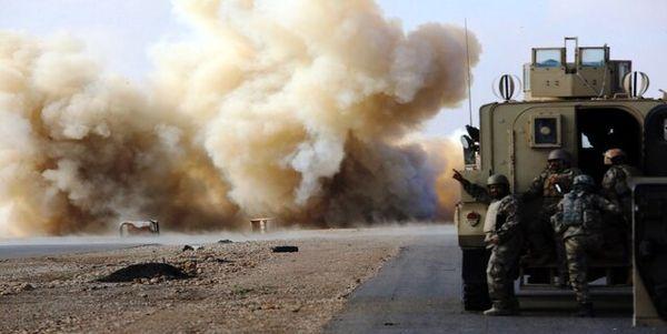 انفجاری دیگر در مسیر کاروان ائتلاف آمریکایی در عراق