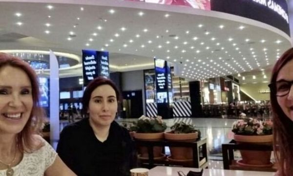عکسی از دختر حاکم دبی در یک مرکز خرید