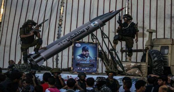 خبر منابع فلسطینی از آزمایش جدید موشکی حماس در سواحل غزه