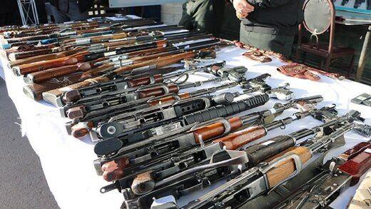 خبر رئیس پلیس پیشگیری ناجا از کشف ۵۸۰۰ قبضه سلاح جنگی و شکاری