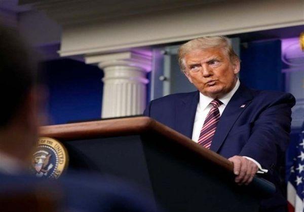 تجمع هواداران ترامپ در کاخ سفید در شب انتخابات