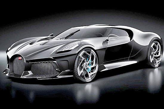 ماشین سیاه، گرانترین خودروی دنیا