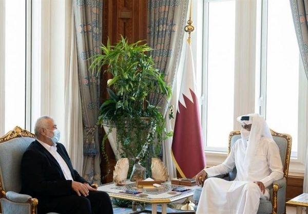 درخواست انتخاباتی اسماعیل هنیه از امیر قطر