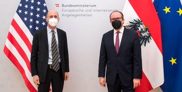 دیدار رابرت مالی با وزیر خارجه اتریش
