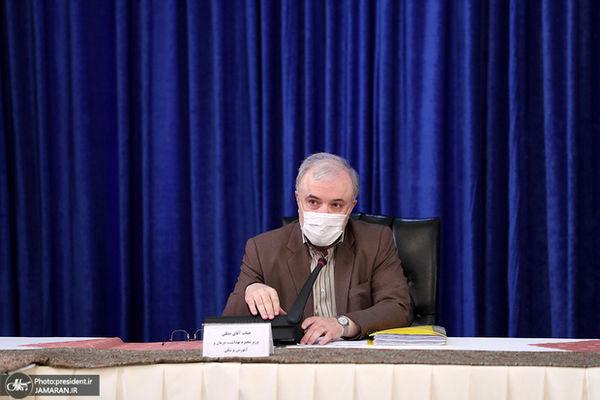 خبر وزیر بهداشت از وارد شدن واکسن+فیلم